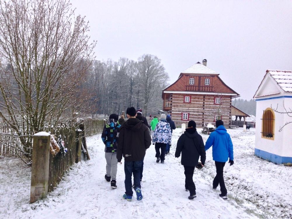 Vánoční výlet do Krňovic