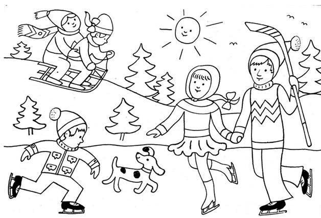 Zimní školní družina