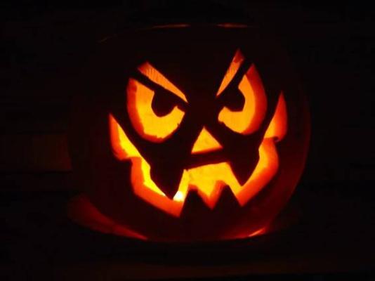 Halloween radování