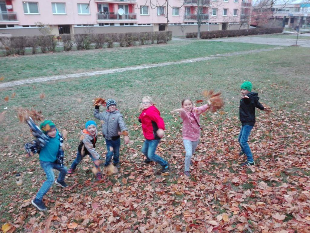 Podzimní radování ve 4. oddělení ŠD