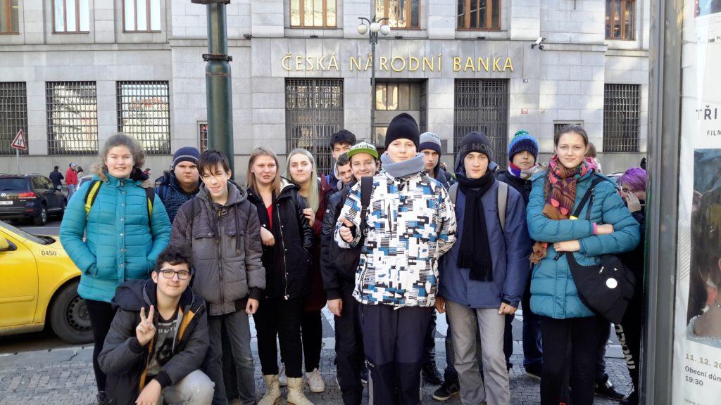 Na exkurzi do České národní banky v Praze