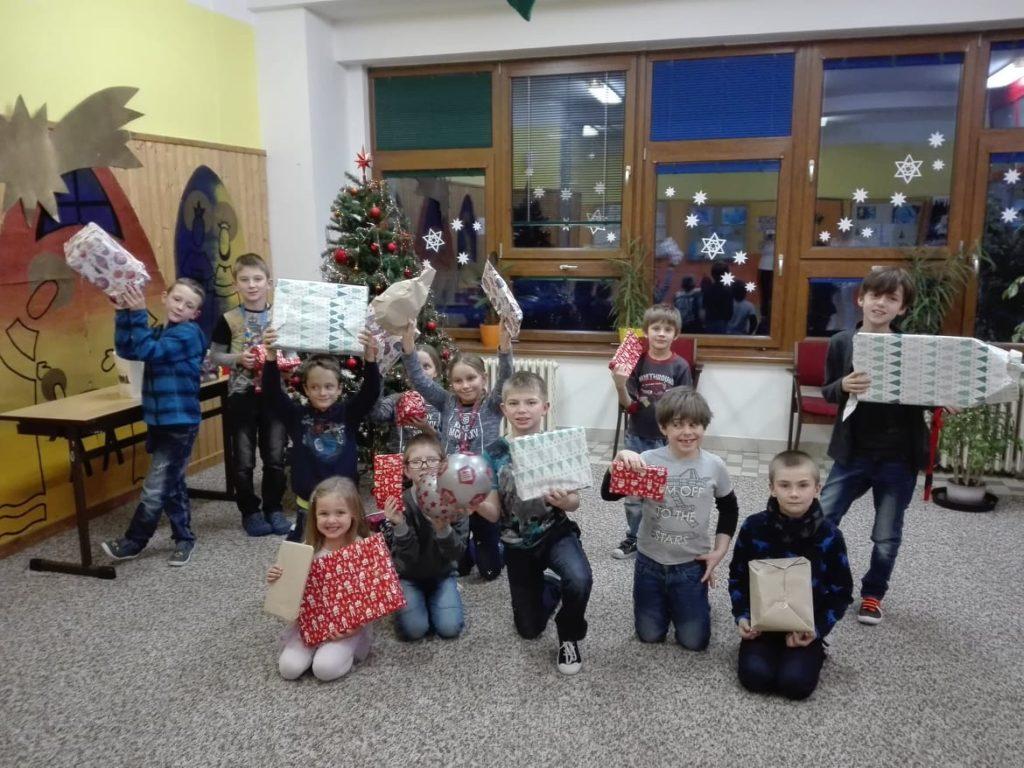 Vánoční nadílka do školní družiny