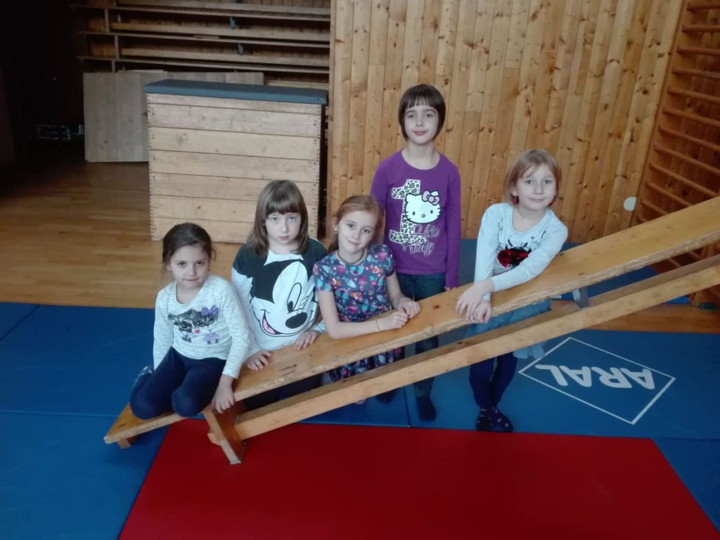 Taneční kroužek - mladší skupina