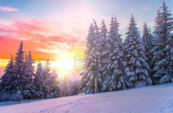 FotkyFoto_winter-landscape-on-a-sunset-bulgaria_18947877