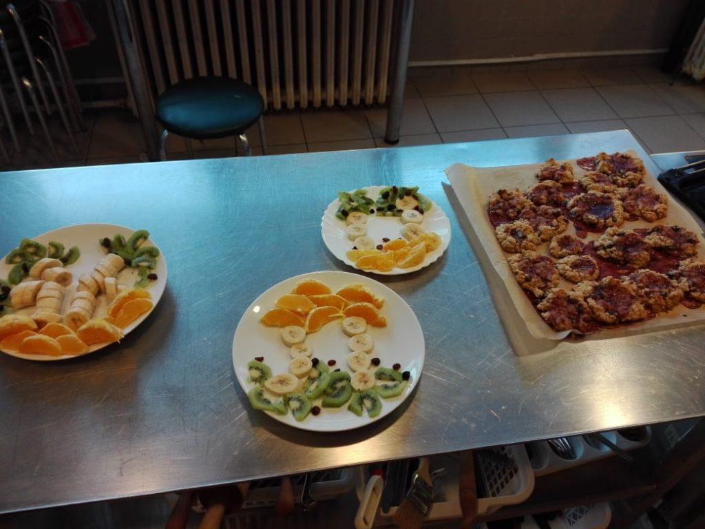 Vaření v kuchyňce