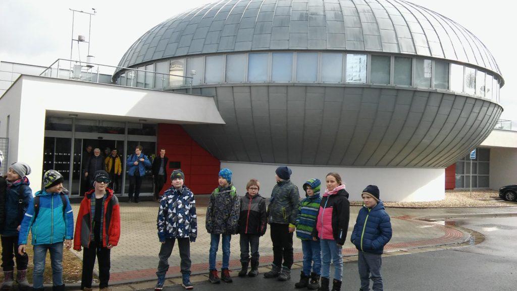 II. oddělení školní družiny v planetáriu