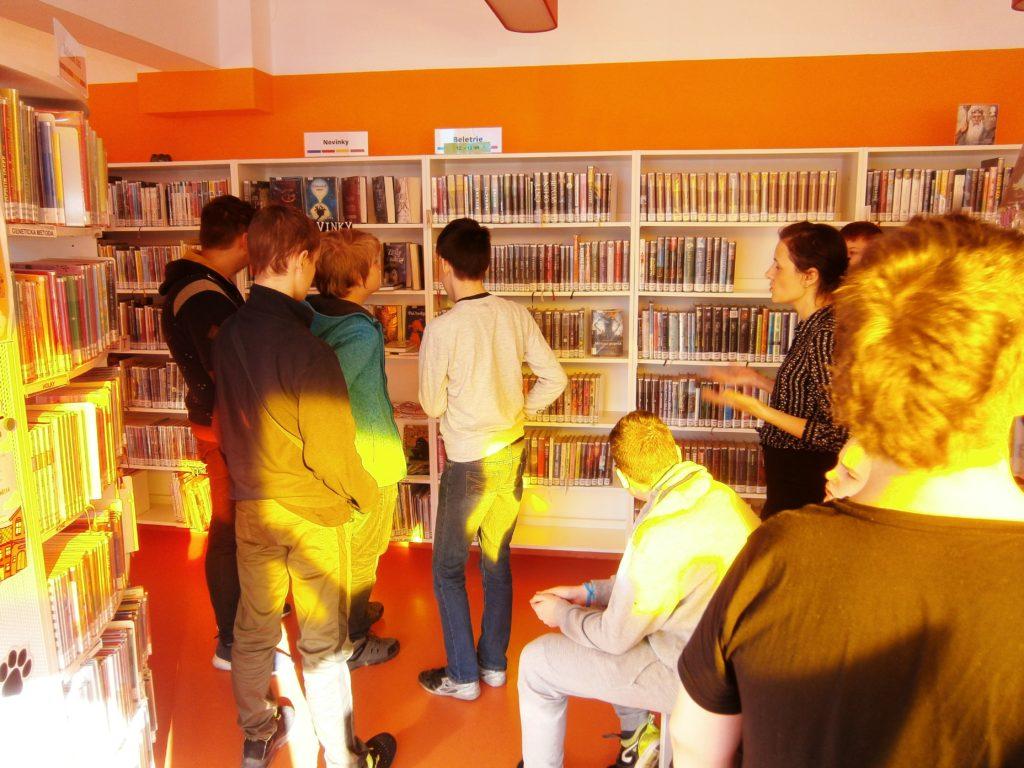 Čtenářský klub zavítal do městské knihovny