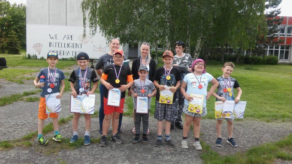 Atletické závody ve školní družině