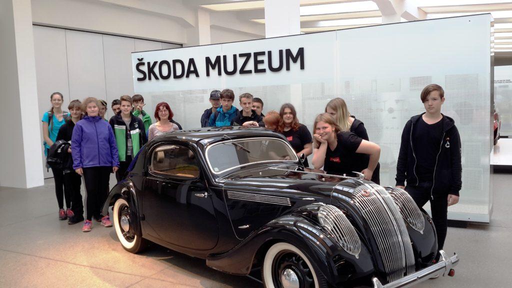 Exkurze do ŠKODA AUTO v Mladé Boleslavi