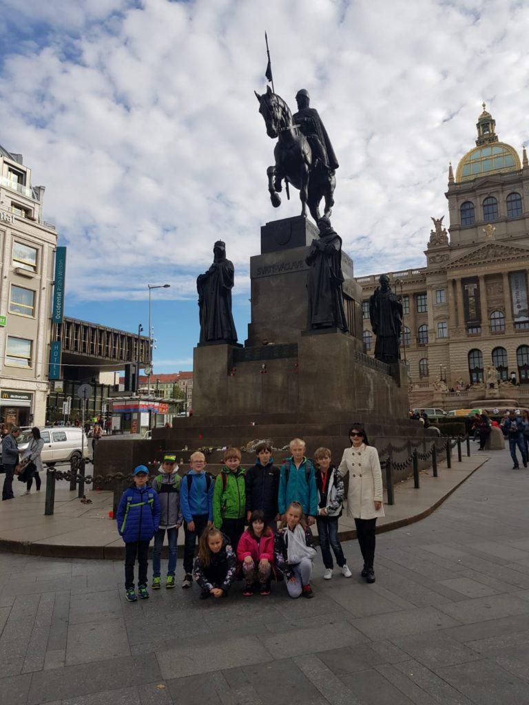 """Exkurze do ČNB v Praze (Expozice """"Lidé a peníze""""), 17. 10. 2019"""