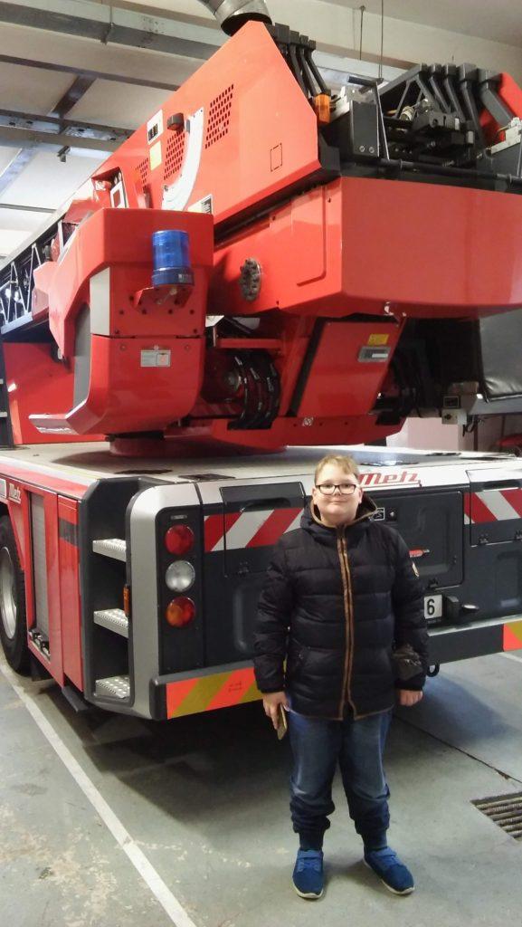 5. Oddělení školní družiny u hasičů