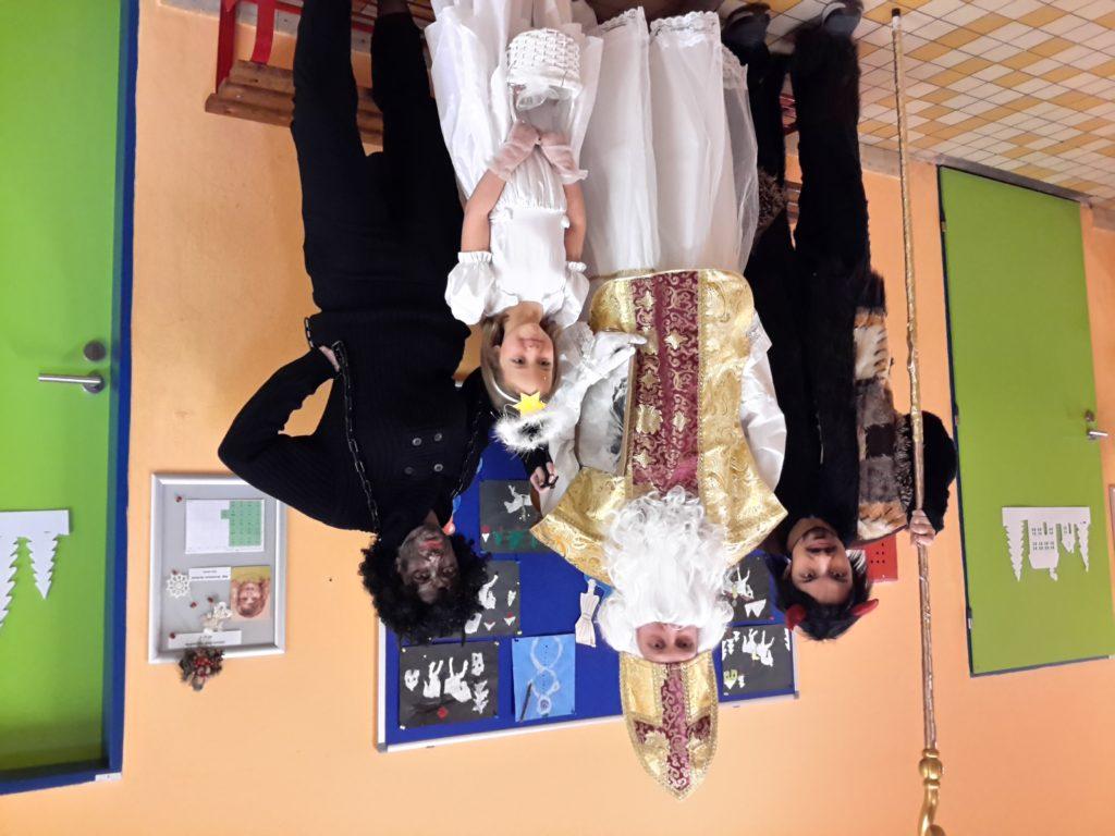 Mikuláš, Čert a Anděl v naší škole