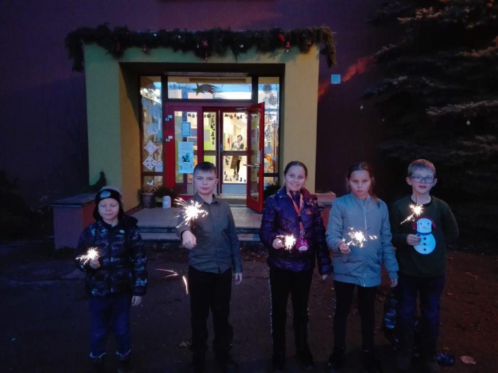 Vánoční besídka ve školní družině