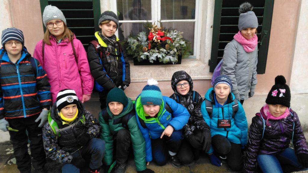 Vánoční exkurze do Ratibořic, 6. 12. 2019