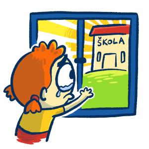Škola - dodělávky pro nepřítomné žáky