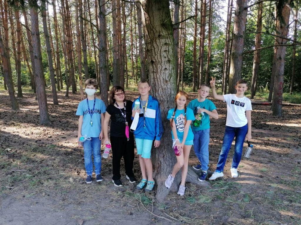Hraní v lesoparku