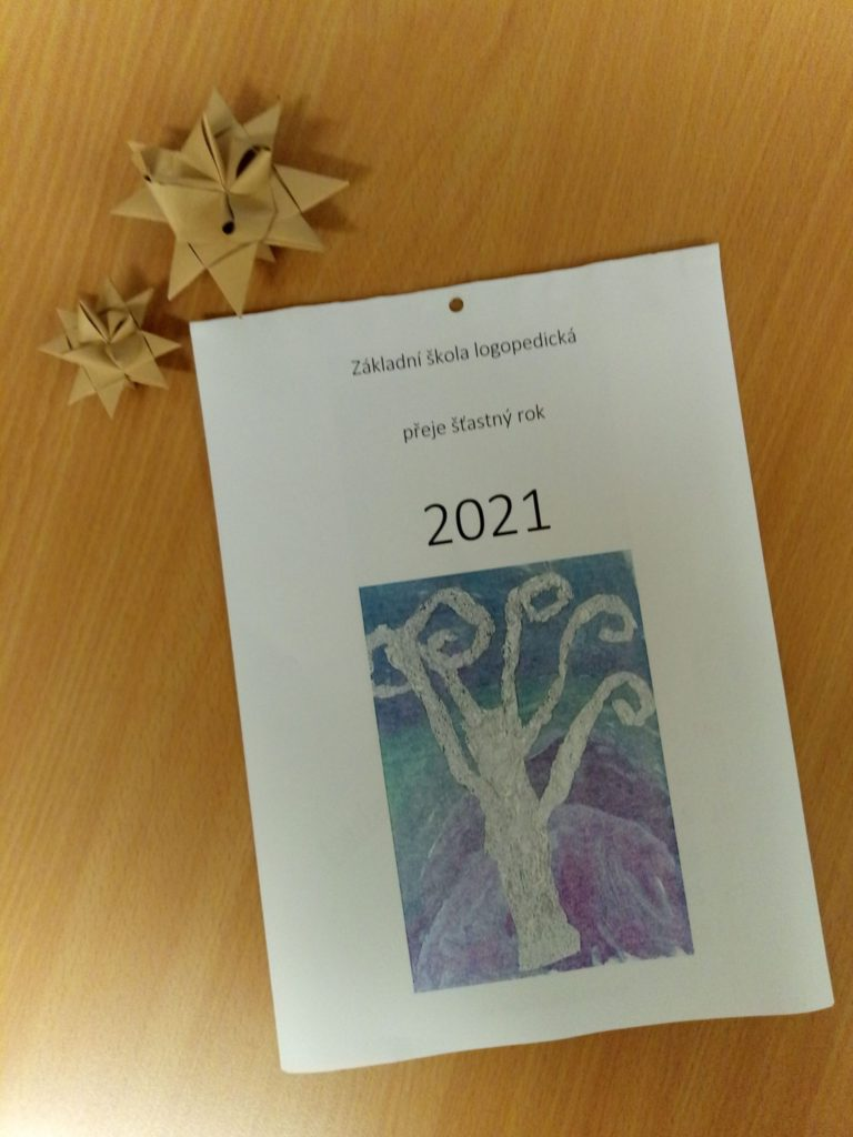 Kalendář 2021 naší školy
