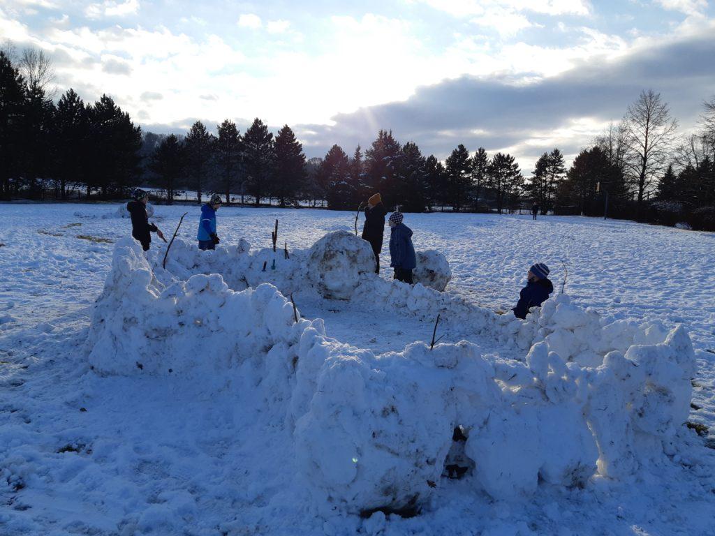 Dovádění na sněhu