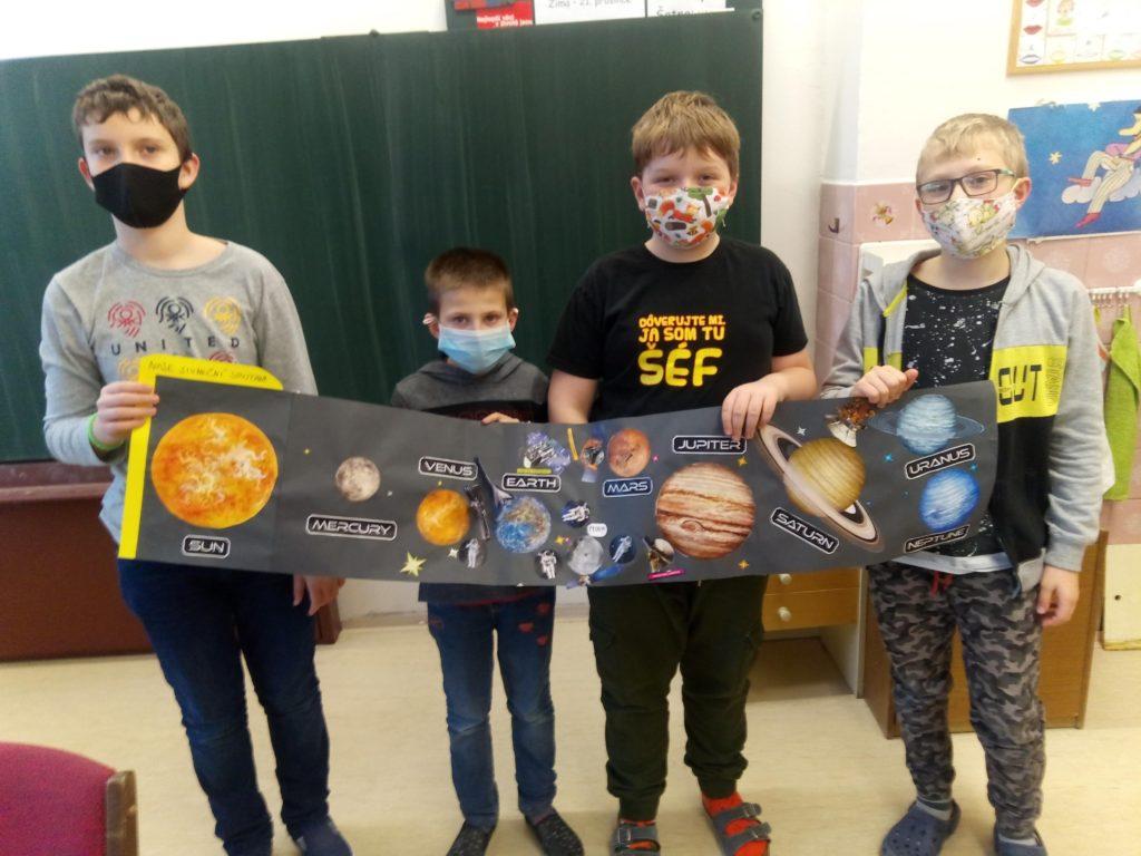 Výlet do vesmíru v 3. oddělení školní družiny