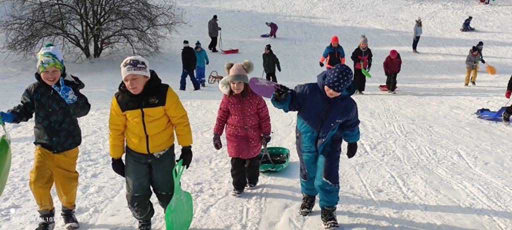 Druháci na sněhu