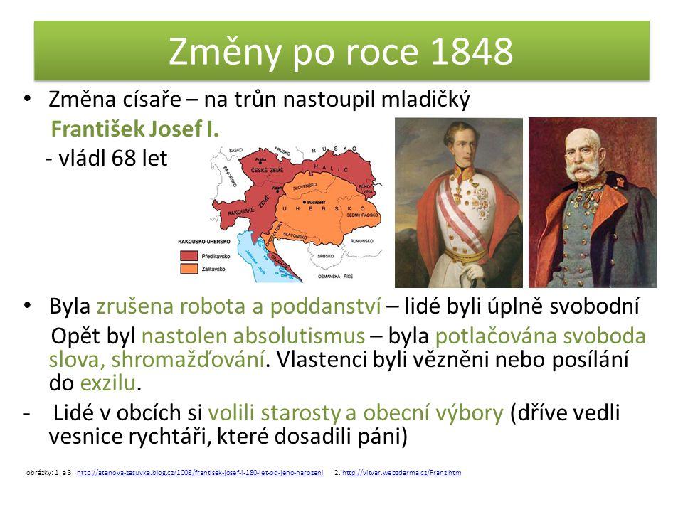 Vlastivěda - ZMĚNY PO ROCE 1848