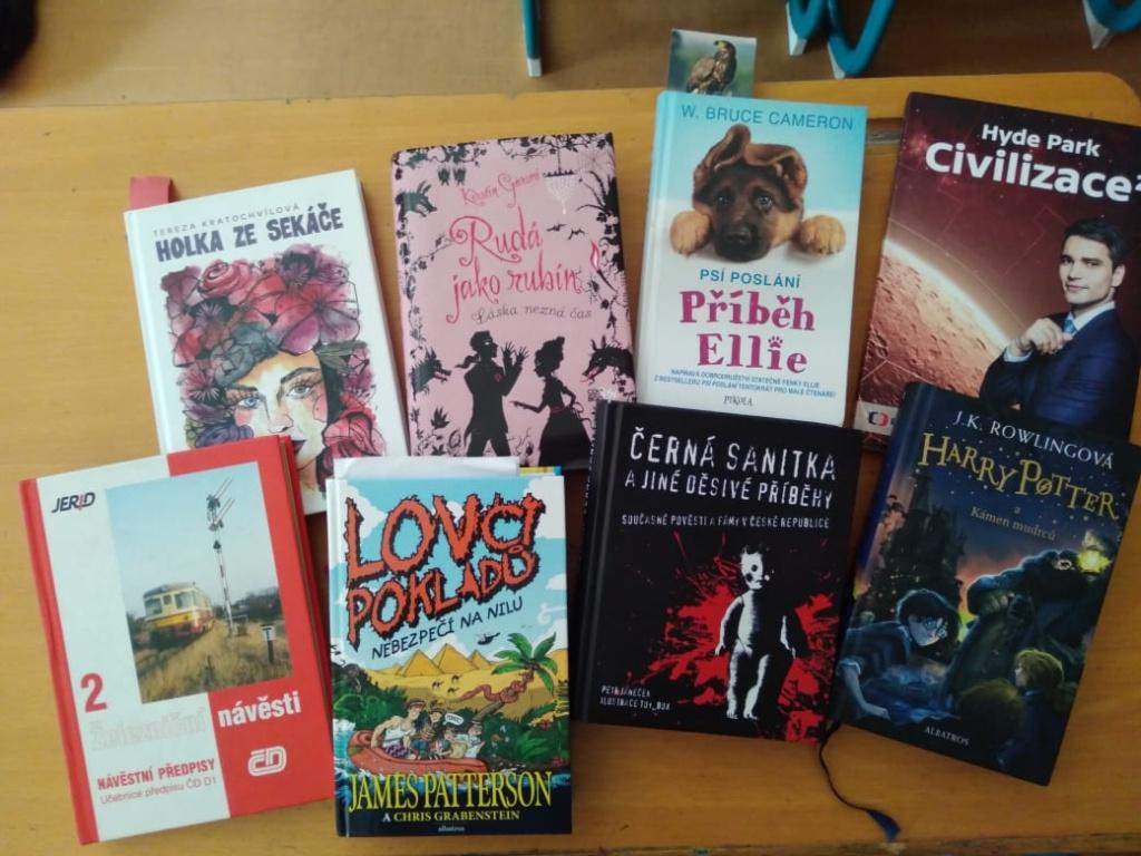 Projektový den Měsíc knihy